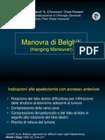 Tecnica Chirurgica Manovra Di Belghitì