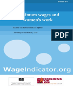 DFL WageIndicator Women and Minimum Wage Report v2 2011
