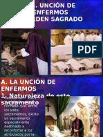 Uncion de Los Enfermos y Orden Sagrado