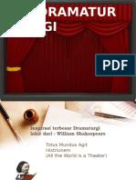 Presentasi Dramaturgi.ppt