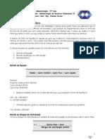 Contabilidade Intermediária - Exercícios de Fixação ADM-Ponto de Equilibrio e Alavancagem