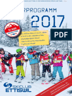 Winterprogramm 2017 - Skiclub Ettiswil