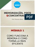 Memorizacao Foco e Concentracao Renato Alves Estacio Acredita 2