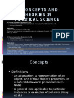 Concepts and Theory in Political Science