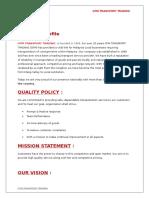 GTM TRANSPORT PROFILE.doc