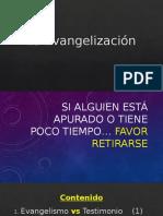 La Evangelización - Daniel Sosa