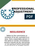 6 - Professional Adjustment