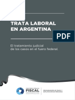 Informe Trata Laboral en Argentina