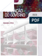 Pesquisa CNI IBOPE - Avaliacao Governo Set2016