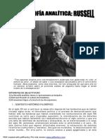 La Filosofia Análitica_Bertrand Russell