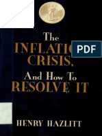 Henry Hazlitt - The Inflation Crisis, And How to Resolve It