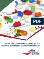 Estudio sobre las condiciones de competencia en el mercado de medicamentos de la República Dominicana
