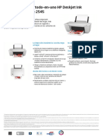 Deskjet Ink Advantage 2545 All in One Printer 4AA4 7368SPL