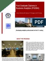 Brochure PGDBA 2015 2017 Batch