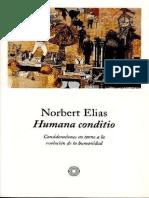 Elias Norbert. Humana Conditio. Consideraciones en torno a la evolución de la humanidad..pdf