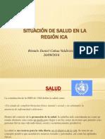 Situacion de Salud Peru Ica 2010