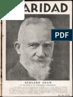 revista Claridad n° 62 julio 1928