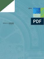 Informe Anual del Banco de España. 2015