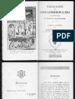 151593274 Explicacion Del Santo Sacrificio de La Misa P Cochem