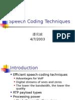Speech Coding Techniques.ppt