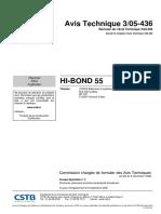 Hib-bond 55 Cstb
