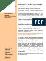 Artigo Cientifico - Adimplemento Substancial Em Contratos Administrativos - Revisado