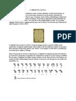 L'alphabet des sorcières (Honorius de Thèbes)