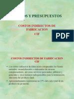 Costos y Presupuestos CIF
