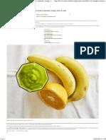 Recette de Smoothie Vert _ Mangue, Laitue Romaine, Épinards, Orange, Citron & Maca - Santé Nutrition