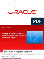 Testing the Job System