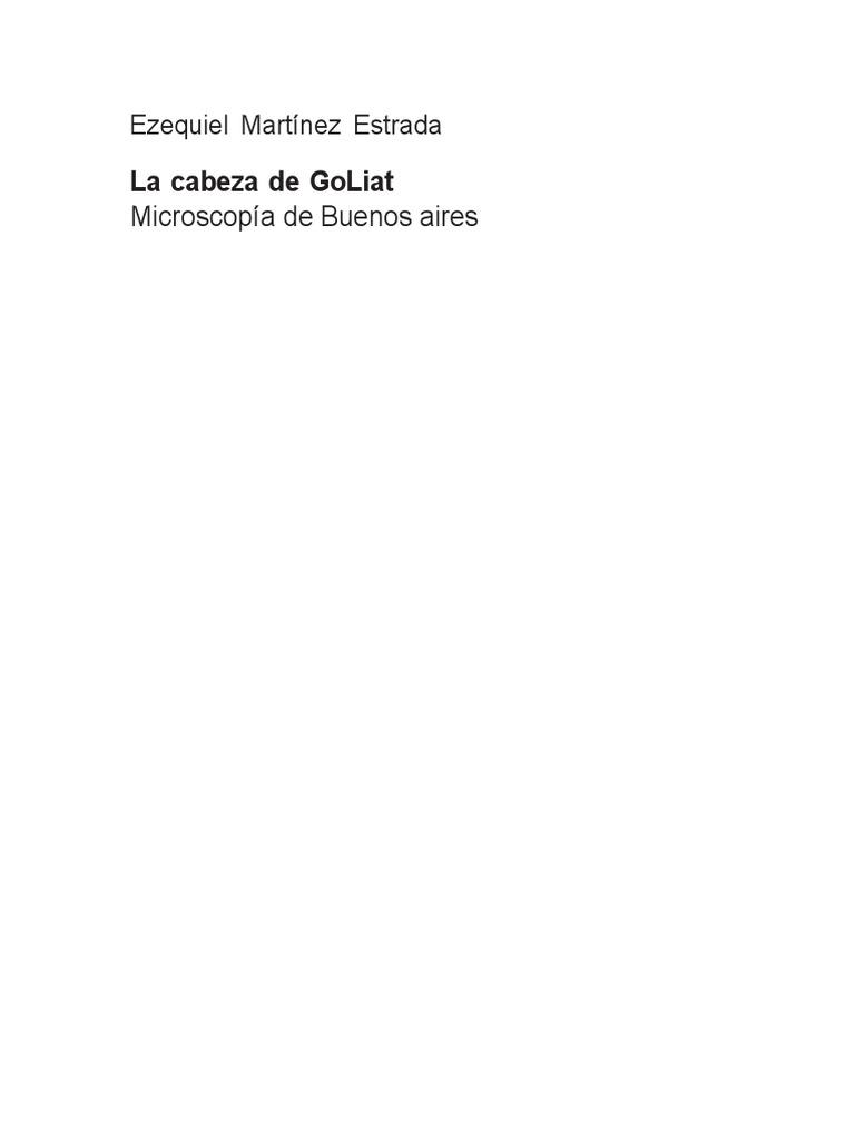La cabeza de Goliat e707311408d