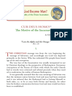 P1 T1 Cur Deus Homo - The Motive of the Incarnation by Father Georges Florovsky
