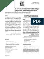 Compuestos Bioactivos de La Dieta Con Potencial en La Prevención de Patologías