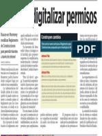 06-10-16 Plantean digitalizar permisos