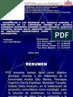 Orientación Comunidad Andrés Eloy Blanco Sobre Proyectos Comunitarios - Copia