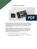 ESP3212 Wifi Bluetooth Combo Module
