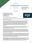 Letter to Council Regarding STRP Enforcement