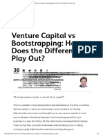 Venture Capital vs Bootstrapping_ How Does the Difference Play Out