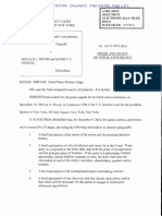 Judge  Status Conference Order Jane Doe. V Trump