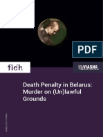Death Penalty in Belarus Murder on (Un)Lawful Grounds en Web