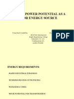 Nuclear Power Potential as a Major Energy Source