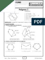 Practica de Polígonos Geometría - 2do de Sec