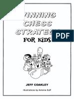 Coakley, Jeff - Winning Chess Strategy for Kids