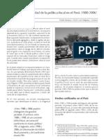 La efectividad de la política fiscal en el Perú