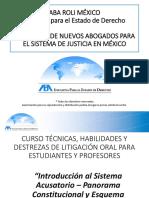 TEMA 1. Introducción Al Sistema Acusatorio Panorama Constitucional y Esquema Procesal (1)