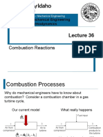 L36 - Combustion Reactions