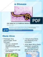 Ebola 101 Cdc Slides for Us Healthcare Workers