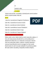 Prooogram Za Maturalnu