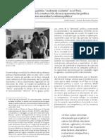 El sistema de partidos realmente existente en el Perú, los desafíos de la construyendo de una representación política nacional y cómo enrumbar la reforma política