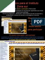 la página participativa